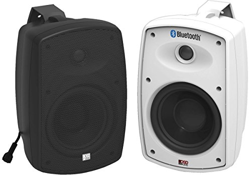 The Bluetooth Patio 5 25 Inch And 6 Models Shown Respectively In Their Black White Variants